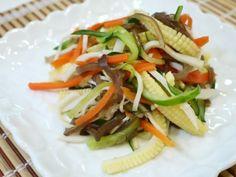 五行涼拌蔬菜絲