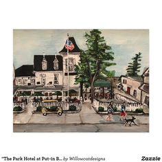 """""""The Park Hotel at Put-in Bay, Ohio"""" Postcard"""