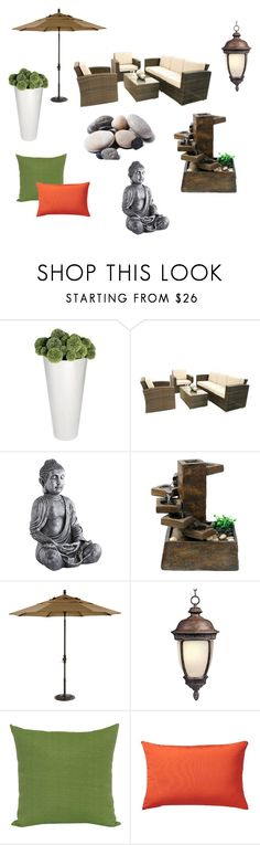 """Untitled #38"" by reetta-v on Polyvore featuring interior, interiors, interior design, home, home decor, interior decorating, Quarry, Pier 1 Imports, Alpine and Ethan Allen"