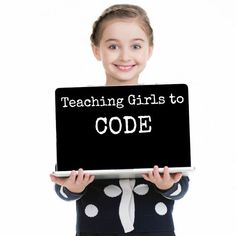 Coding for girls - how do you get your girls started on the way to understanding computer languages and coding? Teaching Kids To Code, Teaching Science, Teaching Ideas, Activities For Girls, Games For Girls, Science Experiments Kids, Science Activities, Science Fun, Computer Coding