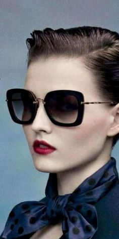 dfce0a65234d8 Moda Masculina - Acessórios · Miu Miu sunglasses , from Iryna by Eva Óculos  De Sol Feminino, Óculos Feminino,