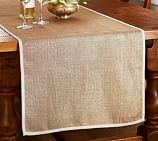 Metallic Bronze Jute Table Runner