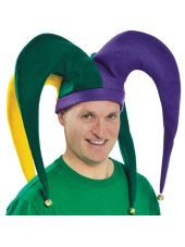 Giant Mardi Gras Jester Hat for Adults - Party City