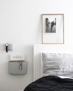 The Pocket Organizer by Normann Copenhagen looks great in the beautiful bedroom of @scandinavianlovesong available in our mid season sale . #bedroom #bedroomdecor #nordichome #nordicinspiration