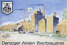 Browar Gdański w Parku Kuźniczki / Old Brewery in Kuzniczki Park | #park #brewery #gdansk Danzig, Wwii, Taj Mahal, Berlin, Abs, Mansions, House Styles, Building, Posters
