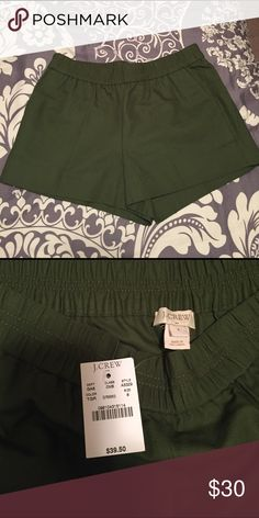 Brand New With Tags! J.Crew Factory shorts. Elastic waist shorts with pockets. Sz 8. J. Crew Factory Shorts
