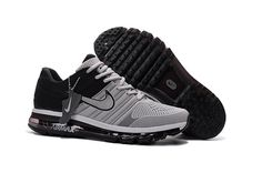 brand new 54814 01cab Nike Air Max 2017 Hot Running Shoes For Men Gray Black http   feedproxy