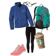 """Lazy School Day"" by thepreppypage on Polyvore"