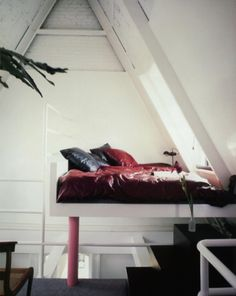 Weiss Apartment in the attic of The Dakota, 1980