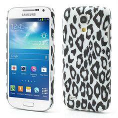 Mesh - Samsung Galaxy S4 Mini - Hoesje Back Case Hard Luipaard | Shop4Hoesjes