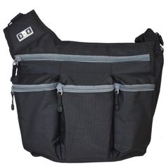 Mens Messenger I Bag - Black