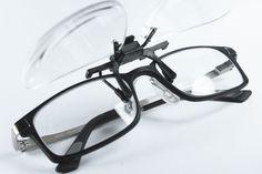 Suplemento para enganchar en las gafas