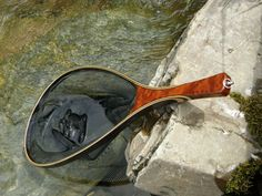 Fly Fishing Net , Landing net, custom landing net, wood landing net