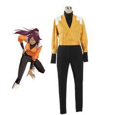 Bleach Yoruichi Shihōin The Secret Remote Squad Uniform Cosplay Costumes