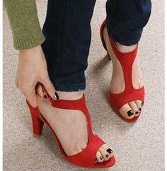 15+ Alçak Topuklu Ayakkabı Modelleri-3
