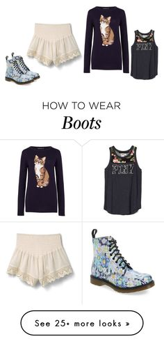 """""""Untitled #1283"""" by sammy-92 on Polyvore featuring MANGO, Sugarhill Boutique, Dr. Martens and DrMartens"""