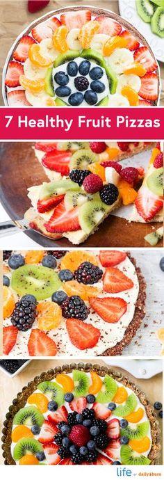 7 Healthy Fruit Pizza Recipes