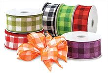 Gingham Ribbon from Nashville Wraps!
