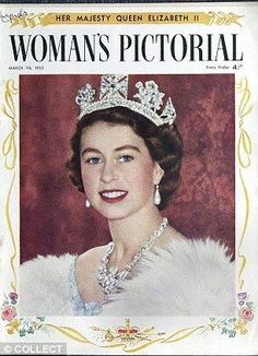 Magazine Covers featuring Queen Elizabeth II