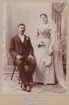 old wedding photo
