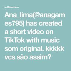 Ana_lima( has created a short video on TikTok with music som original. Lima, Texts, The Originals, Music, Muziek, Texting, Musik, Slime, Text Messages
