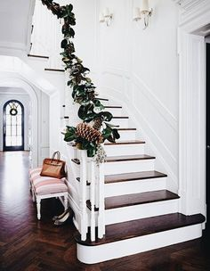 Holiday stairwell design