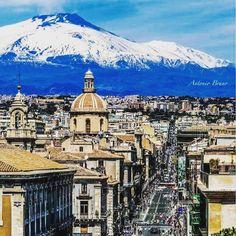 #NicoSpolli Nico Spolli: QUANTO SEI BELLA ❤️ #catania #sicilia #italia #cita #stupenda #mare #sole #neve #etna #bella #vita #mi #manchi #sicily