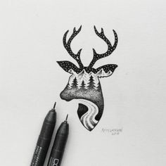 Portland-based artist, Sam Larson has created minimal, black and white illustrations that combine elements of wild landscapes and animals into hybrid compositions. He uses clean lines, dots and clever shading to create his brilliant, monotone art.Check them out below, and follow him here, for more of his works. 10,000 people are receiving exclusive UltraLinx-related content from our monthly newsletter. Don't miss out, subscribe here.Via DesignTaxi