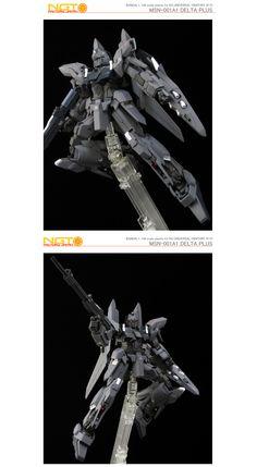 HGUC MSN-001A1 Delta Plus #gundam