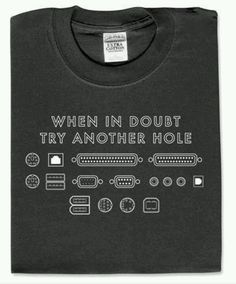 Try another hole.