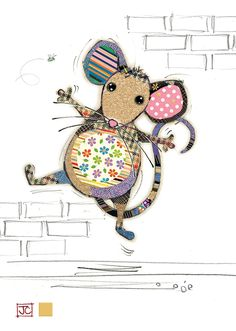 Molly Mouse bug art greeting card A few varied photos that I like Applique Patterns, Applique Quilts, Quilt Patterns, Applique Ideas, Fabric Art, Fabric Crafts, Paper Crafts, Free Motion Embroidery, Machine Embroidery