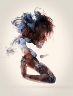 Trabajo del diseñador gráfico Alberto Seveso.