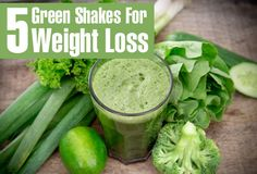 Green juices are beneficial ways for losing weight as they are nutrient rich thus improving metabolism. Get to know green shakes for weight loss, their preparation methods.
