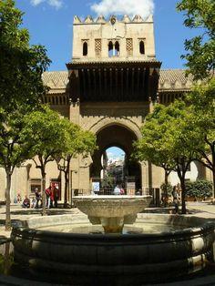 Patio de los Naranjos in Seville, Spain