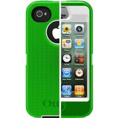 Sweet iphone4 Case- OtterBox  Green Apple $17