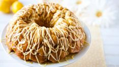 Lemon Monkey Bread This has inspired me to tr making a peach cobbler version, maybe with a crumb strusel on top? - Joy