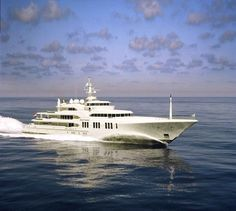 Ecstasea is one of the fastest yachts over 250 feet in the world and has a weekly base rate of about $530,000 for 12 guests.