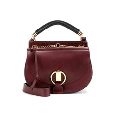 9 Accessories We Expect To See At NYFW - Chloe's New Saddle Bag Goldie Small Leather and Suede Shoulder Bag, Chloe $1950 | The Zoe Report