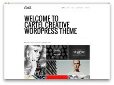 cartel - clean portfolio theme