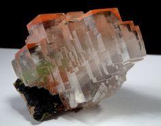 Calcite with Hematite inclusions - Tsumeb Mine, Otavi Highlands, Namibia