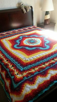 Ravelry: Depths of Change blanket by Frank O'Randle