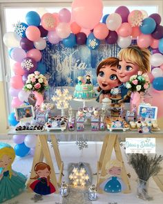 1 million+ Stunning Free Images to Use Anywhere Frozen Themed Birthday Party, Disney Frozen Birthday, 2nd Birthday Parties, Frozen Party Decorations, Birthday Party Decorations Diy, Frozen Backdrop, Mickey Mouse Birthday Theme, Instagram, Frozen 2