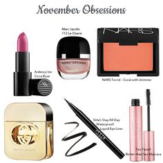 """We love that the runways were dominated this year with flawless """"natural"""" vs """"statement"""" look. We've shared our beauty obsessions for November and inspirations to create your look. Inspiration Boards, Style Inspiration, Mascara, Eyeliner, Stila Stay All Day, Wedding Events, Create Yourself, November, Natural"""
