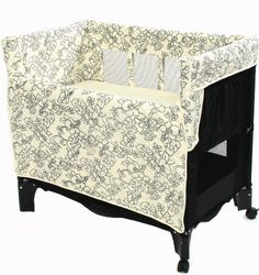 Converts from co-sleeper to bassinet to play-yard. $189.99