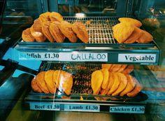 Yummy patties ..Caribbean streetfood,London, UK