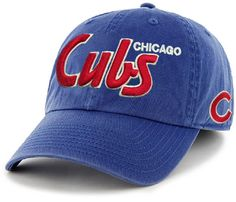 Looking for officially MLB licensed Wrigleyville sports gear? Reach out to Sports World Chicago for Chicago Cubs merchandise, such as shirts, jerseys, hats etc. Cubs Merchandise, Cubs Hat, Snap Backs, Cubbies, Chicago Cubs, Fitness Fashion, Baseball Hats, Cap, Shirt