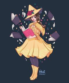 he original Disney Princess Snow White as cute little witch! I plan on doing all the ladies! Should I go chronologically or would you like Disney Fan Art, Film Disney, Disney Princess Art, Disney Magic, Disney Movies, Disney Characters, Disney Princesses, Disney E Dreamworks, Witch Art