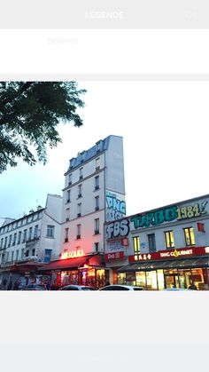 Belleville Paris Belleville Paris, Four Square, Times Square, Paris City, Cool Bars, City Life, Multi Story Building, Places, Travel