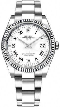 Unworn Rolex Sky Dweller Black Dial 18k White Gold