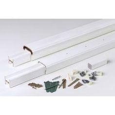 Azek Radiancerail White Composite Deck Railing Kit (Assembled: 10-Ft X